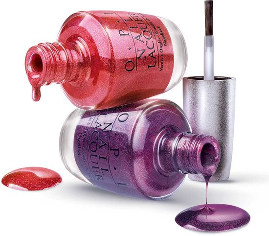OPI Lacquer Bottle Art